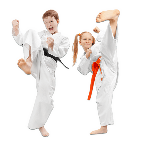 Martial Arts Lessons for Kids in Naperville IL - Kicks High Kicking Together