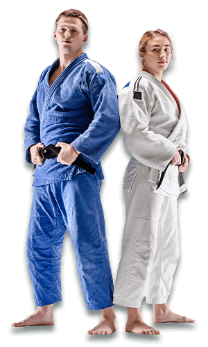Brazilian Jiu Jitsu Lessons for Adults in Naperville IL - BJJ Man and Woman Banner Page