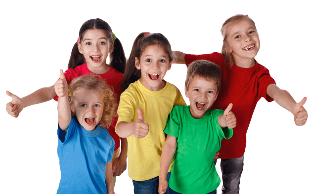 Martial Arts Summer Camp for Kids in Naperville IL - Happy Smiling Kids Footer Banner