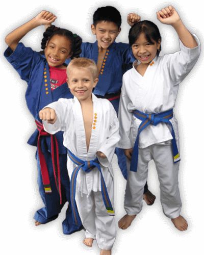 Martial Arts Summer Camp for Kids in Naperville IL - Happy Group of Kids Banner Summer Camp Page